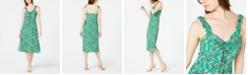 Lucy Paris Floral-Print A-Line Midi Dress