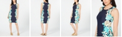 Charter Club Floral-Print Pullover Dress, Created for Macy's