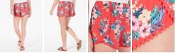 Be Bop Juniors' Wrapped Pom Pom Shorts