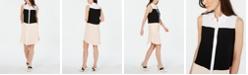Alfani Colorblocked Shirtdress, Created For Macy's