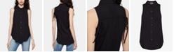 BCBGeneration High-Low Drawstring Shirt
