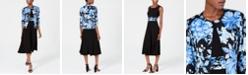 Jessica Howard A-Line Dress & Floral Jacket