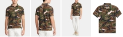 Polo Ralph Lauren Men's Custom Slim Fit Camo Mesh Polo Shirt