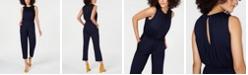 Trina Turk Sleeveless Cropped Jumpsuit
