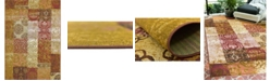 "Bridgeport Home Pashio Pas3 Gold 5' 3"" x 8' Area Rug"