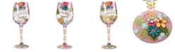 Enesco Lolita Mom You Are Loved Wine Glass