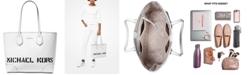Michael Kors Saylor Crossgrain Leather Tote