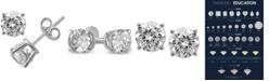 Macy's Diamond Stud Earrings (1/4 ct. t.w.) in 14k White Gold