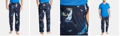 Nautica Men's Cotton Sailboat-Print Pajama Pants