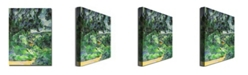 "Trademark Global Paul Cezanne 'Blue Landscape, 1903' Canvas Art - 47"" x 35"""