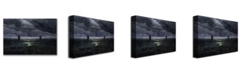 "Trademark Global Caspar Friedrich 'Sea Shore in Moonlight' Canvas Art - 24"" x 18"""
