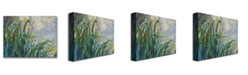 "Trademark Global Claude Monet 'The Yellow Iris' Canvas Art - 24"" x 18"""