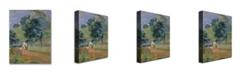 "Trademark Global Paul Gauguin 'Landscape 1889' Canvas Art - 32"" x 24"""