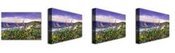 "Trademark Global David Lloyd Glover 'Laguna Niguel Garden' Canvas Art - 47"" x 30"""