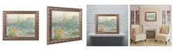 """Trademark Global Monet 'The Tuileries' Ornate Framed Art - 16"""" x 20"""""""