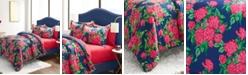 Betsey Johnson Bountiful Bouquet Bed Set, King