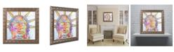 "Trademark Global Dean Russo 'Buddha Liberty' Ornate Framed Art - 11"" x 11"""