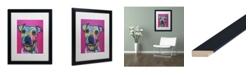"Trademark Global Dean Russo 'Rosa 23' Matted Framed Art - 16"" x 20"""