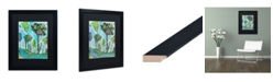 """Trademark Global Carrie Schmitt 'Surrender To The River of Your Life' Matted Framed Art - 16"""" x 20"""""""