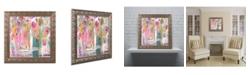 """Trademark Global Carrie Schmitt 'Pink Melody' Ornate Framed Art - 11"""" x 11"""""""