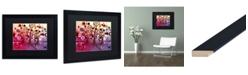 "Trademark Global Natasha Wescoat '029' Matted Framed Art - 16"" x 20"""