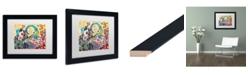 "Trademark Global Natasha Wescoat '046' Matted Framed Art - 11"" x 14"""