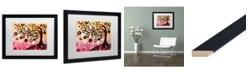 "Trademark Global Natasha Wescoat '062' Matted Framed Art - 16"" x 20"""