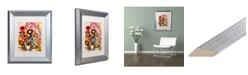 "Trademark Global Natasha Wescoat '104' Matted Framed Art - 11"" x 14"""