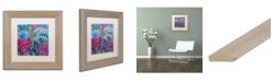 """Trademark Global Carrie Schmitt 'Karma' Matted Framed Art - 11"""" x 11"""""""