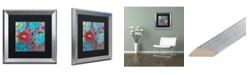 """Trademark Global Carrie Schmitt 'Shanti' Matted Framed Art - 16"""" x 16"""""""