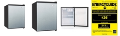 SPT Appliance Inc. SPT 2.4 cubic feet Compact Refrigerator with Energy Star - Stainless Steel
