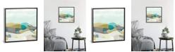 "iCanvas Fieldscape Vista Ii by June Erica Vess Gallery-Wrapped Canvas Print - 18"" x 18"" x 0.75"""