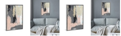 """iCanvas Pink-A-Boo Iii by Jennifer Goldberger Gallery-Wrapped Canvas Print - 26"""" x 18"""" x 0.75"""""""