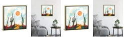 """iCanvas Desert Day by Spacefrog Designs Gallery-Wrapped Canvas Print - 26"""" x 26"""" x 0.75"""""""