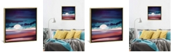 """iCanvas Red Sea by Spacefrog Designs Gallery-Wrapped Canvas Print - 18"""" x 18"""" x 0.75"""""""