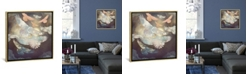 """iCanvas Moonlight Flight by Spacefrog Designs Gallery-Wrapped Canvas Print - 18"""" x 18"""" x 0.75"""""""