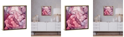 """iCanvas Liquid Mauve Abstract by Spacefrog Designs Gallery-Wrapped Canvas Print - 26"""" x 26"""" x 0.75"""""""
