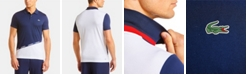 Lacoste Men's Colorblocked Polo Shirt with Logo Taping