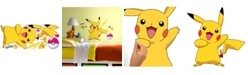 York Wallcoverings Pokemon Pikachu Peel and Stick Wall Decals