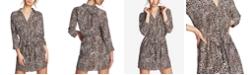 1.STATE Animal-Print Mini Dress
