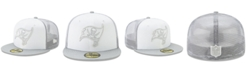 New Era Tampa Bay Buccaneers White Cloud Meshback 59FIFTY Cap