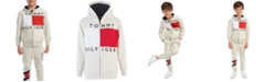 Tommy Hilfiger Toddler Boys Andrew Colorblocked Full-Zip Fleece Logo Hoodie
