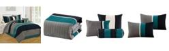 Luxlen Casares 7 Piece Comforter Set, King
