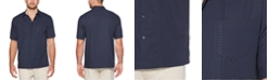 Cubavera Men's Mini Dobby Polka Dot Cotton Shirt