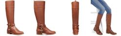Michael Kors Preston Leather Tall Riding Boots