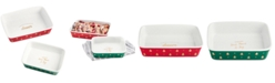 Martha Stewart Collection Martha Stewart Collect Printed Bakers, Set of 2, Created for Macy's