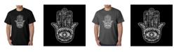 LA Pop Art Men's Word Art T-Shirt - Hamsa