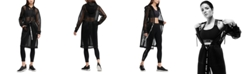 DKNY Sport Hooded Long Mesh Jacket