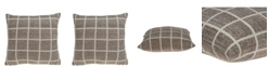 Parkland Collection Stuart Transitional Tan Pillow Cover
