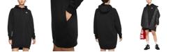 Nike Sportswear Essential Fleece Hoodie Dress